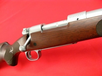 Winchester Model 70 Featherweight stainless upclose