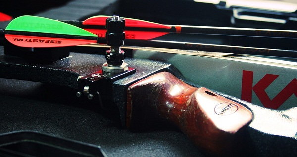 bow and arrow upclose