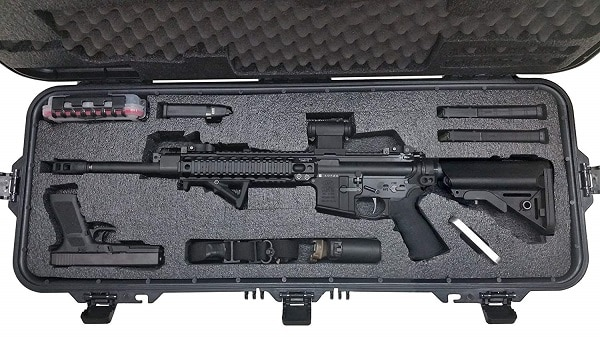 Case Club Pre-Made AR15 Waterproof Rifle Case