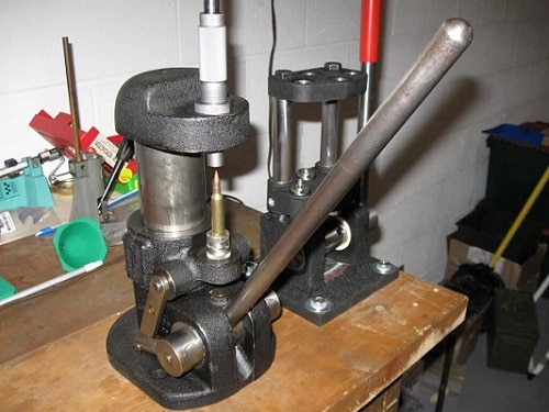 Single stage press
